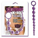 Silicone X-10 Beads (BLACK & PURPLE & RED)