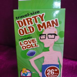 Dirty Old Man Love Doll Travel-Size 26""