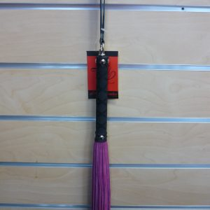 Pink Suede Tail/Rubber Handle