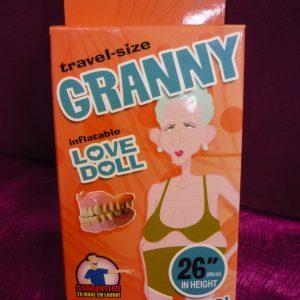 "Granny Love Doll Travel-Size 26"""