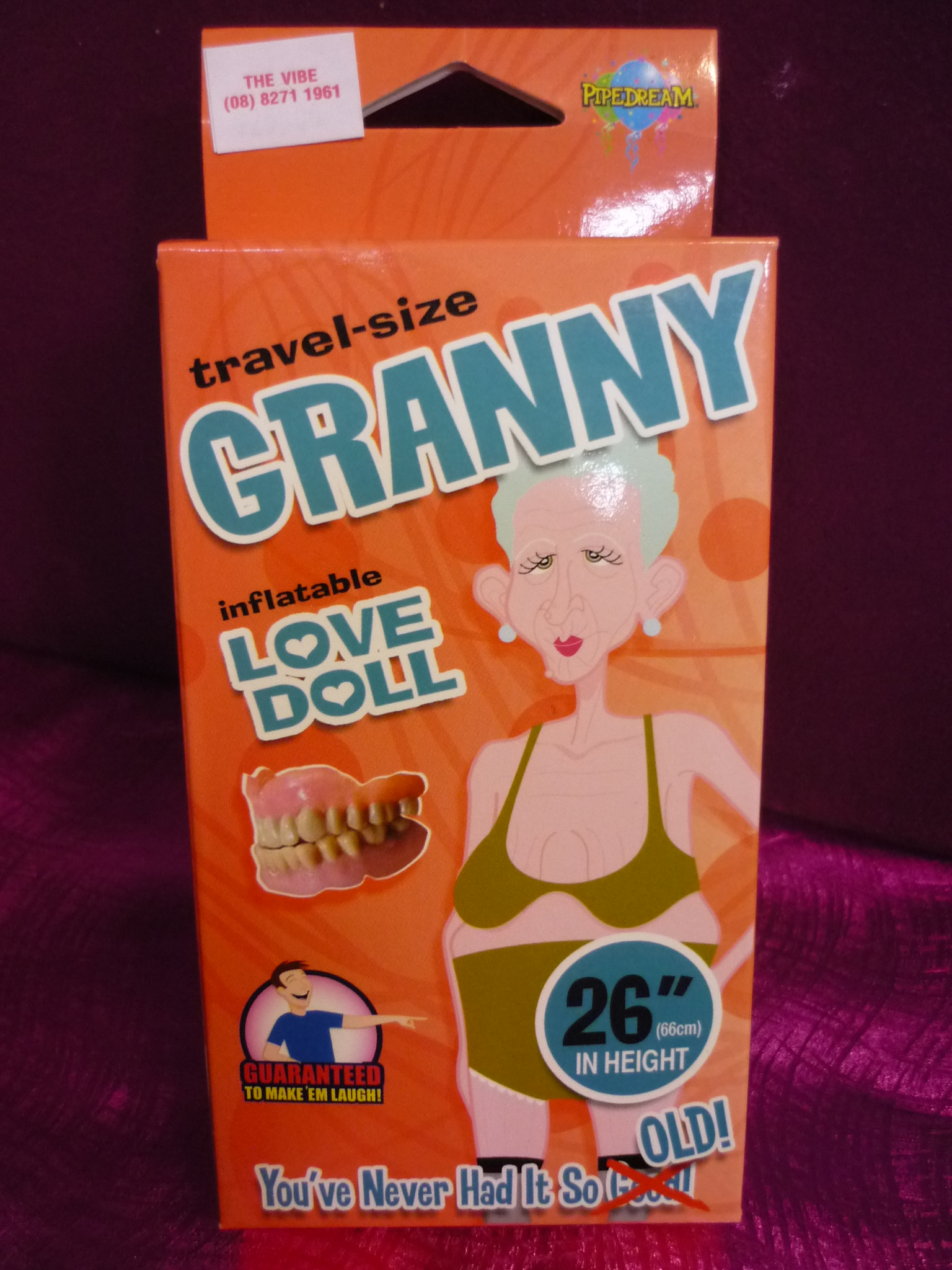 Granny Love Doll Travel-Size 26""