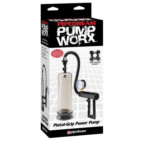 Pipedream Pump Worx PISTOL GRIP POWER PUMP