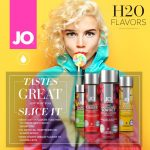 JO H2O Flavoured Lubes  30mls