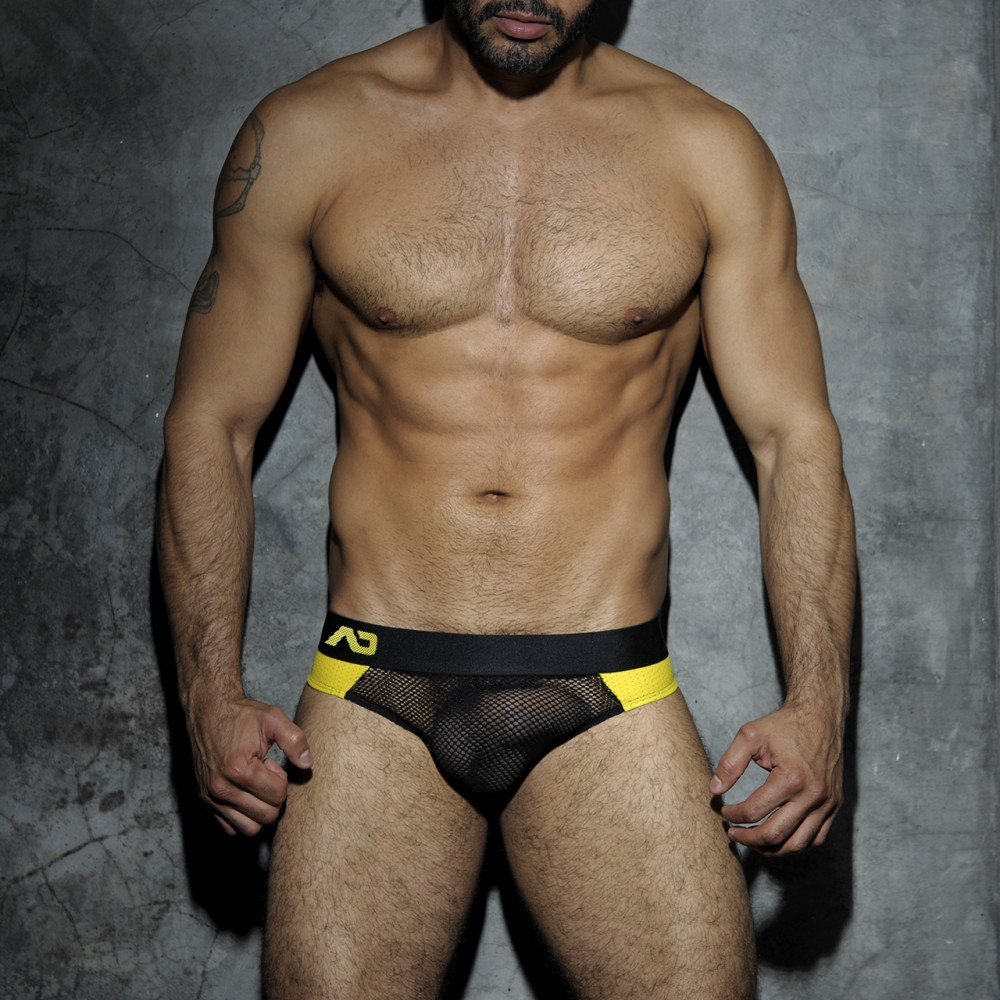 ADDICTED Color Code Jockstrap Yellow Blue or Red