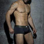 ADDICTED Camo Stripe Bottomless Boxer