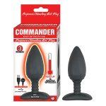 COMMANDER Beginner's Vibrating Hot Plug - Black / Purple
